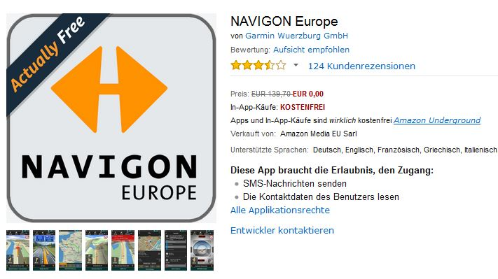 navigon europe im angebot news. Black Bedroom Furniture Sets. Home Design Ideas