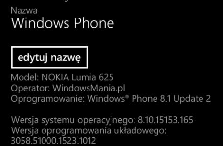 Lumia 625 Custom ROM