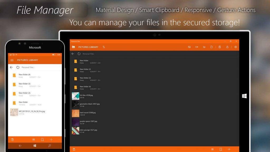 Personal Files App