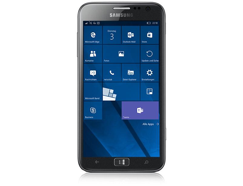 Samsung AtivS – neue Windows 10 Mobile ROM verfügbar ...