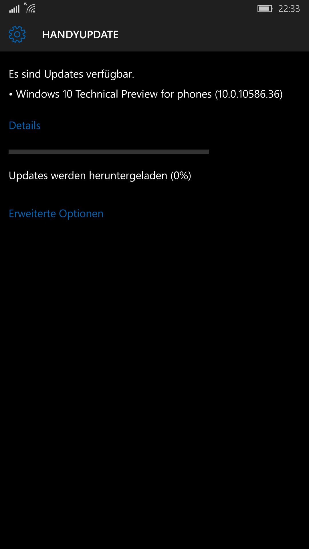 Windows 10 Mobile Insider Preview Build 10586.36 verfügbar