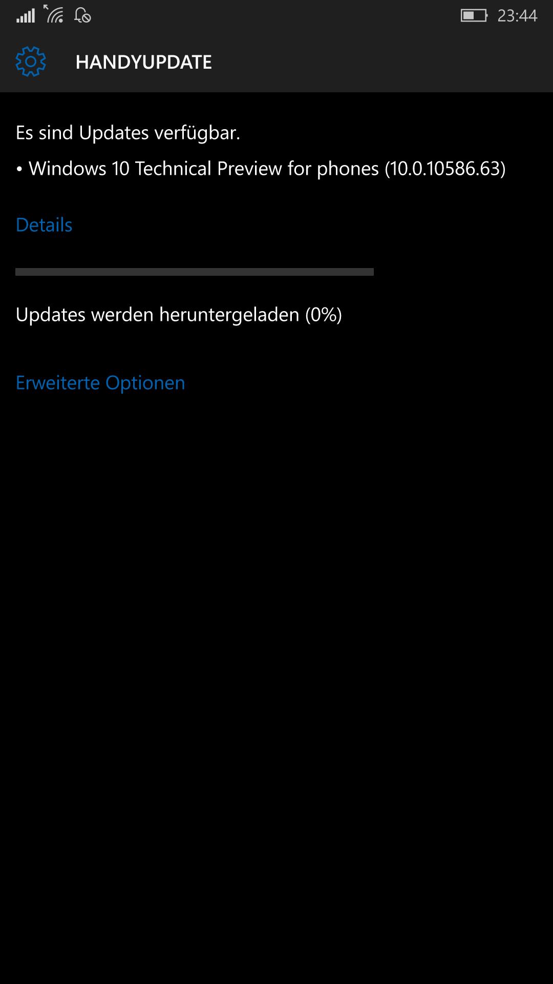Windows 10 Mobile Insider Update 10.0.10586.63 steht bereit