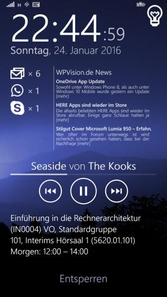 """Neuer Sperrbildschirm für das Samsung AtivS – Projekt """"Midnight Lockscreen"""" ist gestartet"""