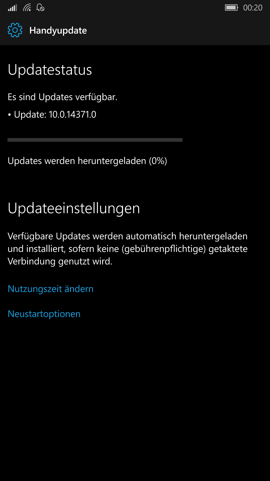 Mobile Insider Build 14371 im Fast Ring verfügbar