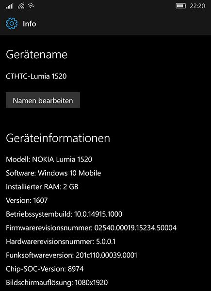 Insider Build 14915 für Desktop und Mobile erschienen – Changelog in deutsch