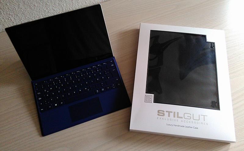 Surface Pro 4 Tablettasche von StilGut – meine Erfahrungen