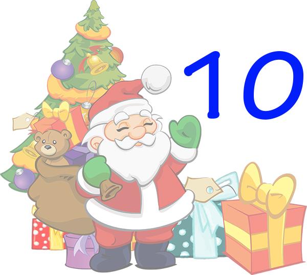 Weihnachtskalender Tür 10