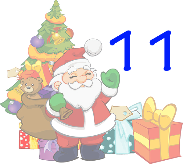 Weihnachtskalender Tür 11