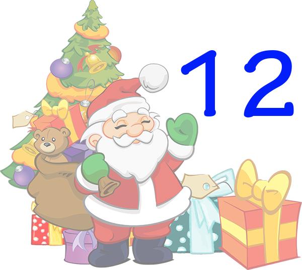 Weihnachtskalender Tür 12