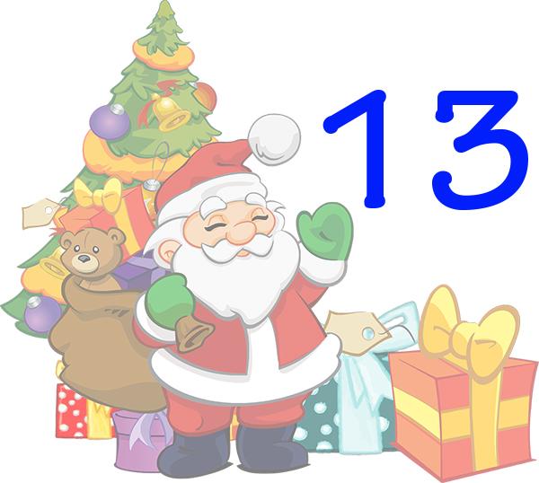 Weihnachtskalender Tür 13
