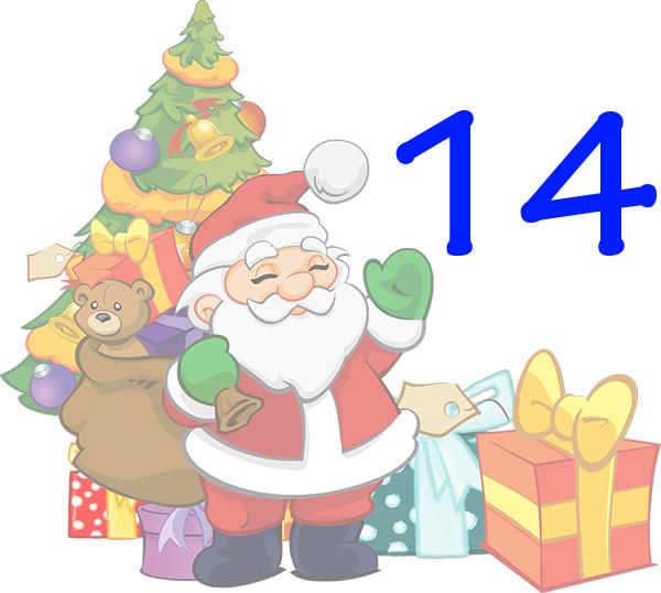Weihnachtskalender Tür 14