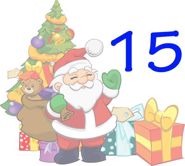 Weihnachtskalender Tür 15