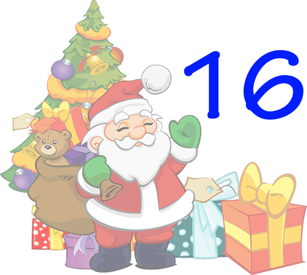Weihnachtskalender Tür 16