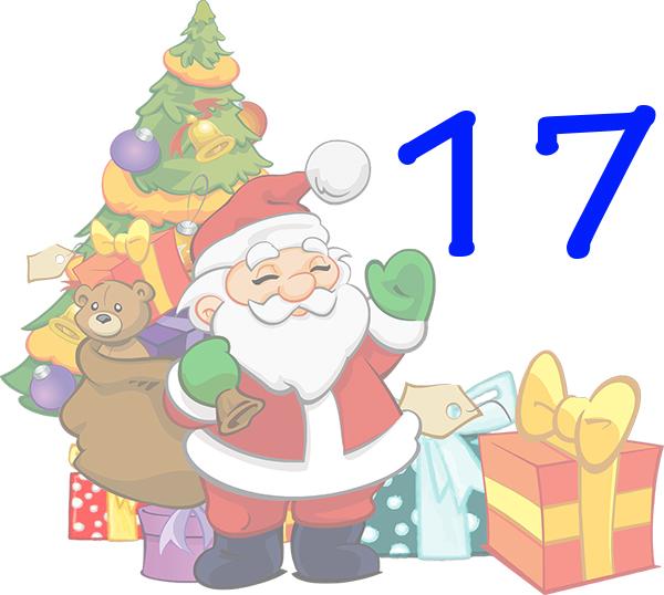Weihnachtskalender Tür 17