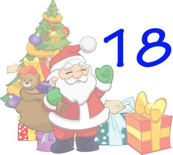 Weihnachtskalender Tür 18
