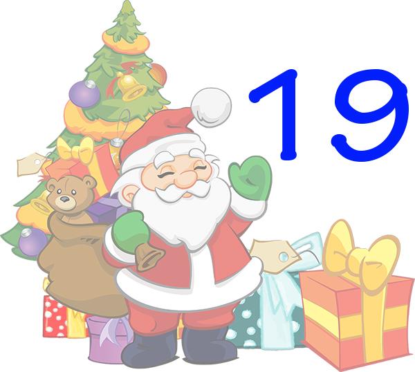 Weihnachtskalender Tür 19