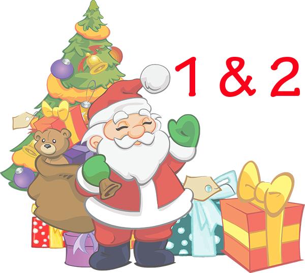 Weihnachtskalender Tür 1 und 2 – Software kostenfrei