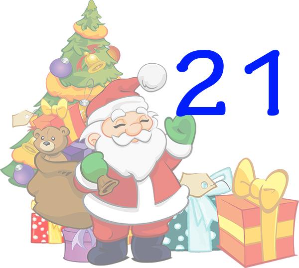 Weihnachtskalender Tür 21