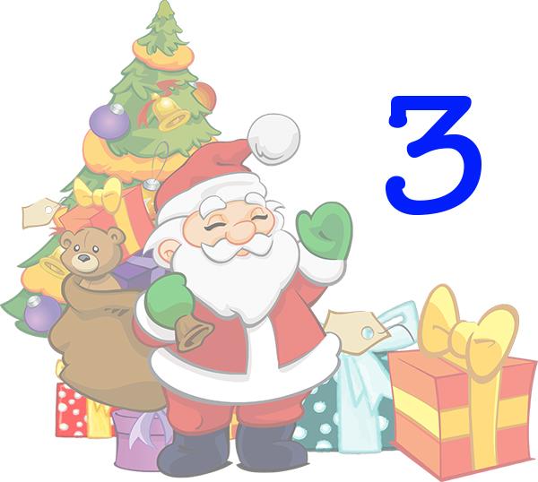 Weihnachtskalender Tür 3