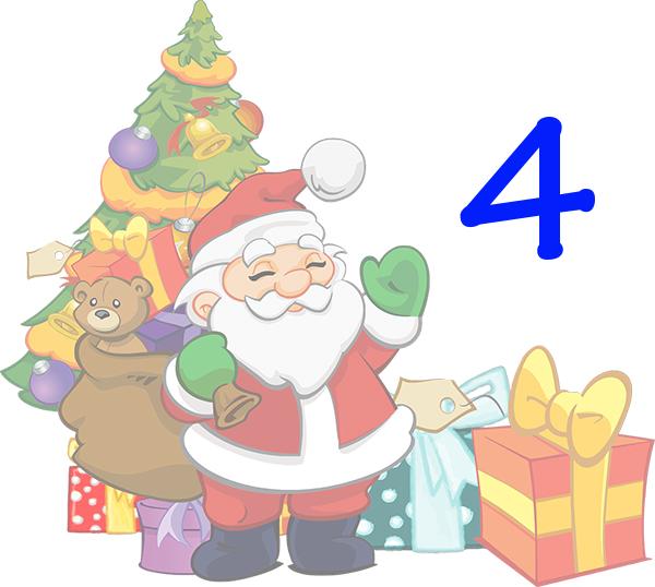 Weihnachtskalender Tür 4