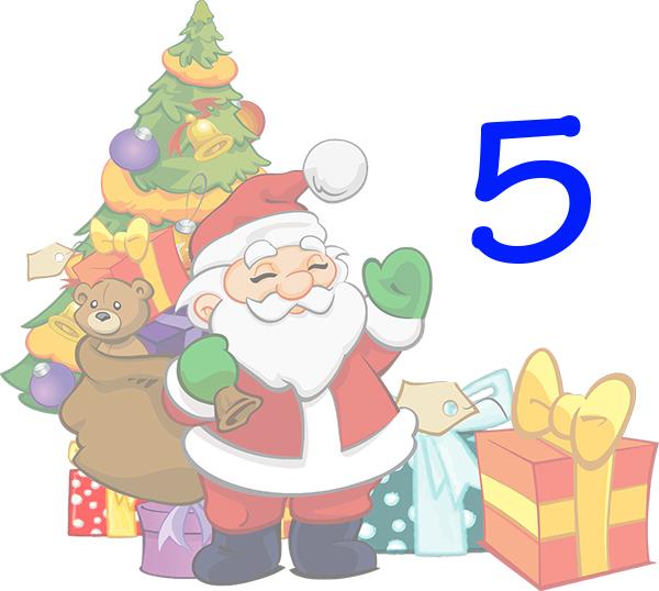 Weihnachtskalender Tür 5