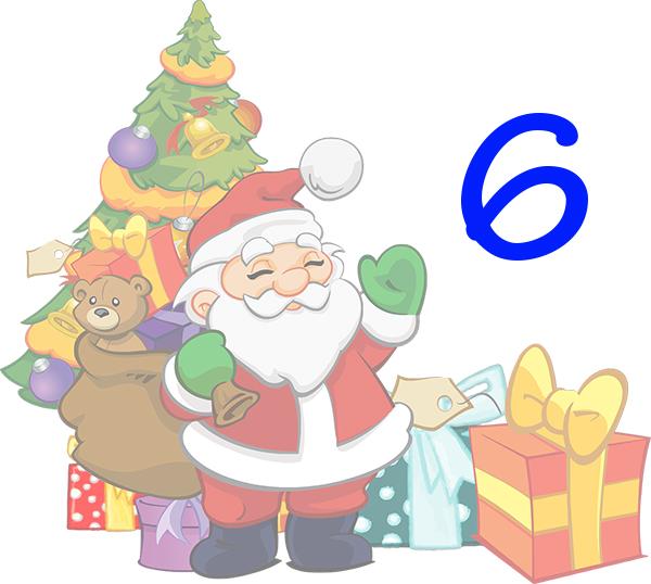Weihnachtskalender Tür 6