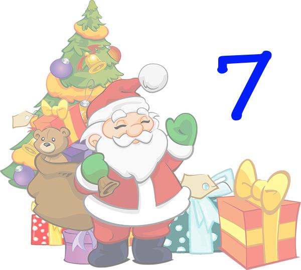 Weihnachtskalender Tür 7