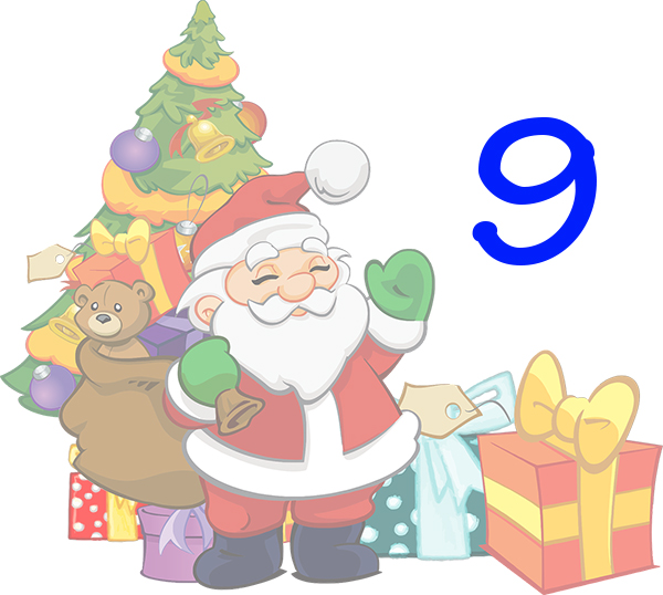 Weihnachtskalender Tür 9