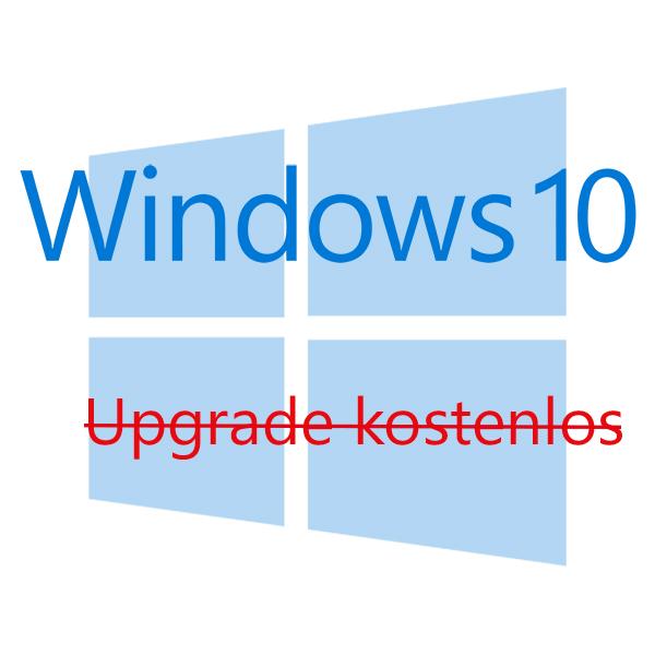 Kostenfreies Windows 10 Upgrade endet am 31.12.2017