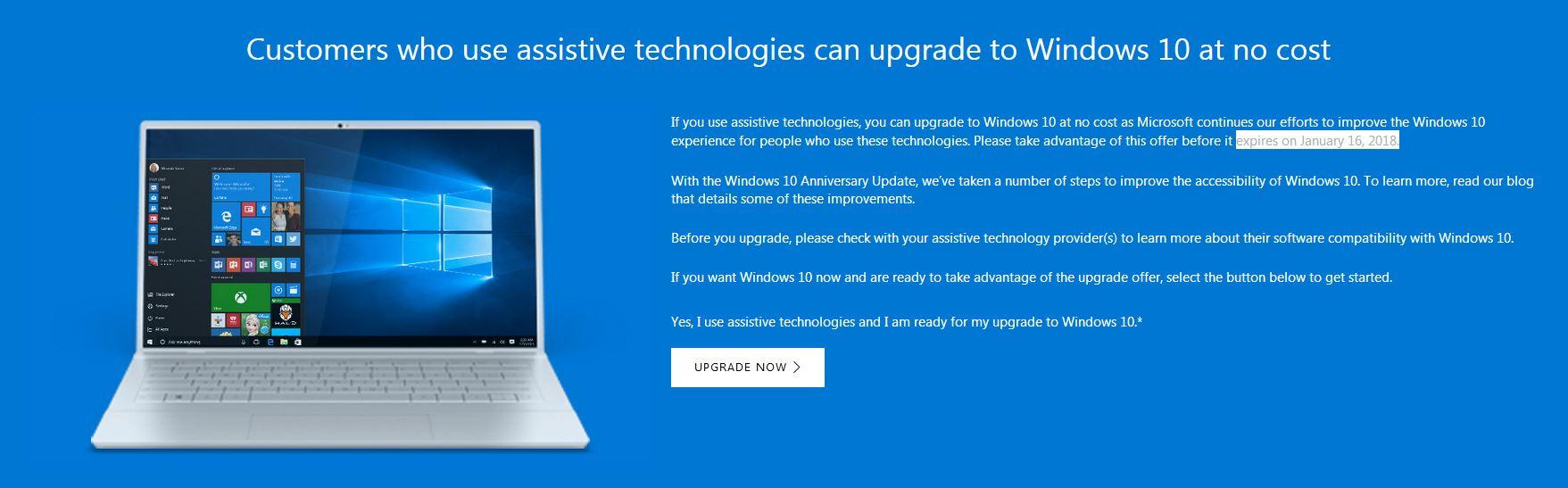 Kostenfreies Windows 10 Upgrade geht weiter