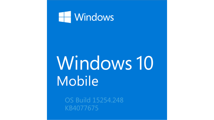 Microsoft veröffentlicht Build 15254.248 für Windows 10 Mobile (KB4077675) [Changelog Deutsch]