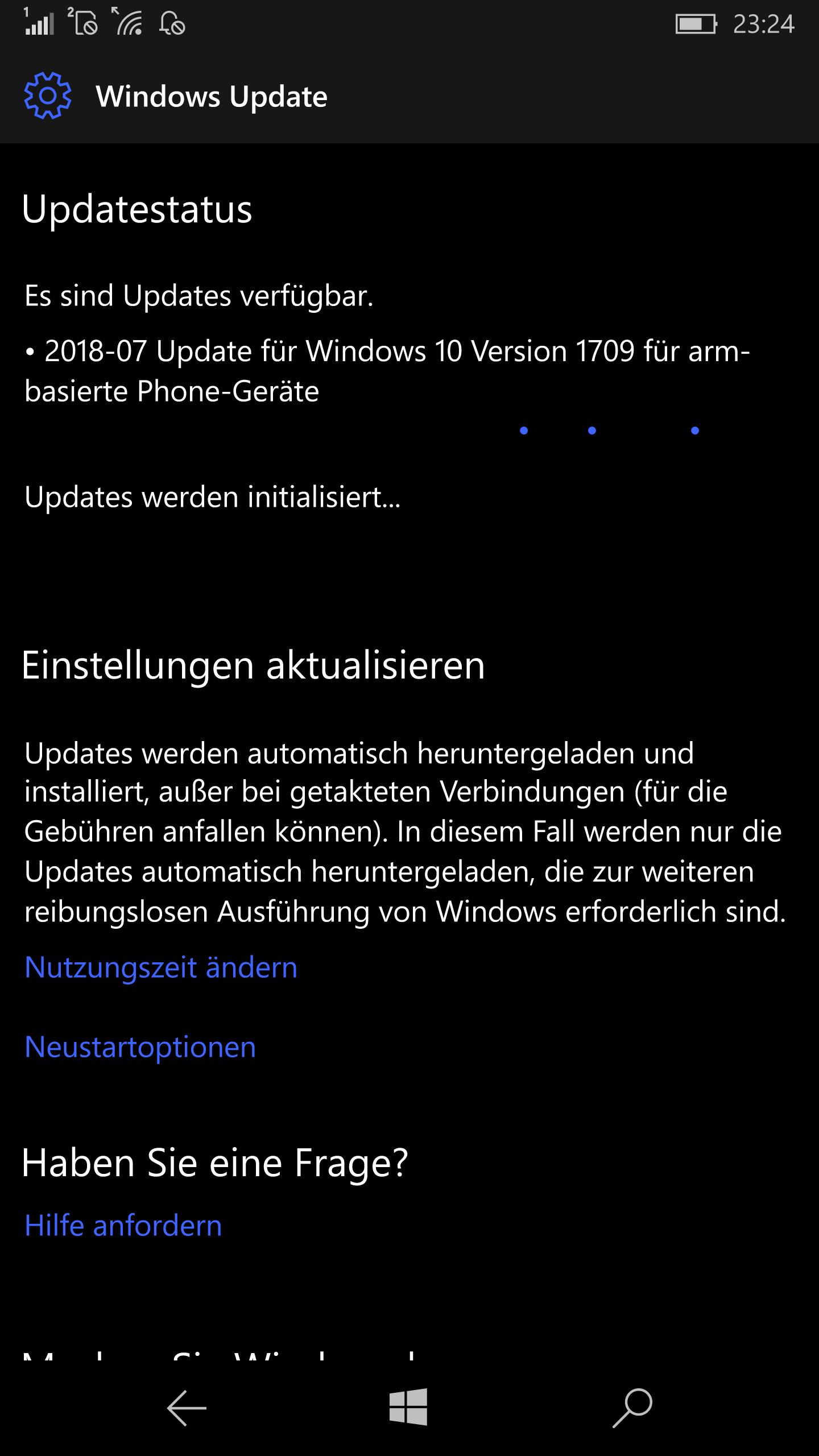 Windows 10 Mobile Update auf Build 15254.490 erschienen